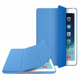 Wholesale 5pcs CHpost Magnetic Smart Cover For New iPad air Ipad Mini Sleep Wake RW L11 B