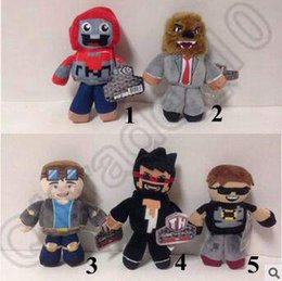 Wholesale 5 Designs cm TUBE HEROES TDM Plush Dolls Toys Children Cartoon Anime Play Games Movie Dolls Kids Gift Plush Dolls CCA5317