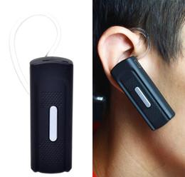 720p HD Bluetooth Headset cámara ocultada espía de auriculares Music Video Recorder Mini K8 videocámara con detección de movimiento desde bluetooth auriculares cámara espía fabricantes