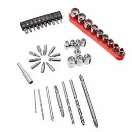 27pcs pièces de clés de tournevis électrique tournevis Twist foret trou bois foret de mur à partir de trous bois fournisseurs