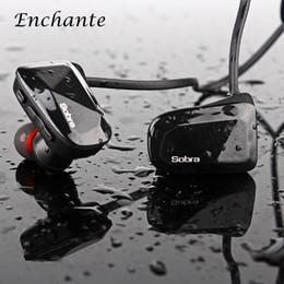 Bruit bleu annulation en Ligne-BT-06 écouteurs Bluetooth sans fil stéréo écouteurs intra-auriculaires imperméables à l'eau CVC annulation de bruit avec microphone noir / bleu / rouge