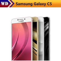 Original Samsung Galaxy C5 C5010 Mobile Phone 5.2 inch Octa-Core 4GB RAM 32GB 64GB ROM LTE 16MP Android 2600mAh Dual SIM Phone