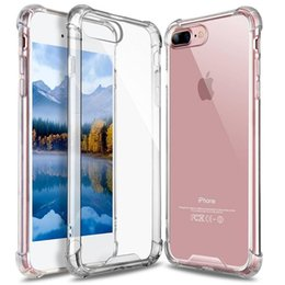 Transparent Soft Thicken TPU Case Clear Gel Rubber Bulky Back Corner Case Cover for iPhone XR XS MAX 8 7 Samsung S9 Note 9