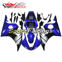 ABS Fairings For Yamaha YZF 600 R6 YZF-R6 03 04 2003 2004 Sportbike ABS Motorcycle Fairing Kit Bodywork Carenes Cowling Blue Black New