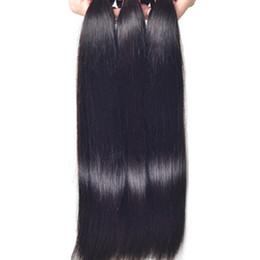 Cheveux brésiliens de cheveux de cheveux humains Livraison gratuite Progression non traitée Péruvien Indien Malaisien Cambodgien Straight Hair Extensions 8A à partir de extensions de cheveux humains tisse fabricateur