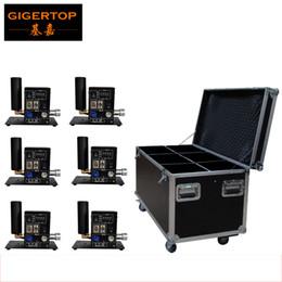 6in1 Paquet de Kit Professional Chine Stage Equipment Custom CO2 Cannon System Single Pipe US EU DMX CO2 Jet souffleur Affichage d'écran numérique à partir de équipements d'emballage fournisseurs
