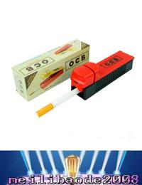 Descuento filtros automáticos en rollo 2017 Nuevo filtro de tabaco de cigarrillo eléctrico del tubo individual Filtro de cigarrillo automático Rolling Machine Roller Injector Fabricante de cigarrillos Paquete de detalles MY