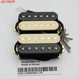 Wholesale Set of zebra Artec Maching Humbucker guitar pickups HBC115