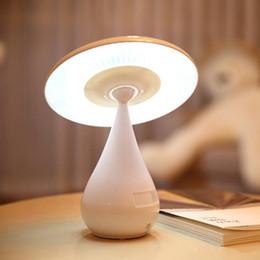 Étude sur les enfants en Ligne-USB Touch Sensor Mushroom Lampe de Table LED Purification d'air Chambre à coucher Lecture Étude Enfants Bureau Lampe de nuit Lumière Rechargeable Livre