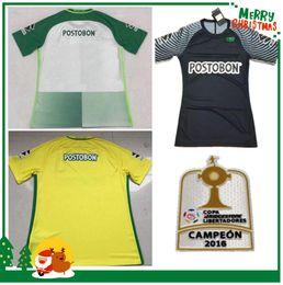 Wholesale 70 Anniversary Soccer Jersey Atletico Nacional Medellin Maillot de Ibarbo Diego Arias Cardenas Luis Carlos Home Football Shirts