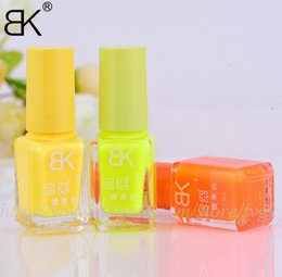 Wholesale Candy colors luminous nail polish matte color fluorescent nail polish Night Elf