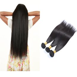 Unprocessed Virgin Peruvian Hair Extensions 3pcs lot Straight Hair Weaves Wet and Wavy Peruvian Human Hair Double Weft 50g pc No Shedding