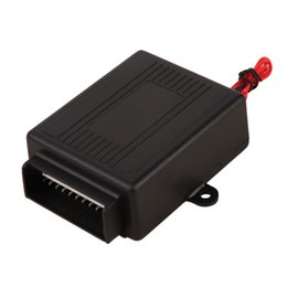 Descuento sistema de alarma a distancia un coche Sistemas de alarma universal Automóvil de coche remoto Central Kit de bloqueo de la puerta Bloqueo del vehículo Sistema de entrada sin llave Nuevo con controladores remotos