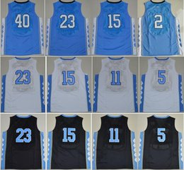 Wholesale College North Carolina Tar Heels Jerseys Brice Johnson Vince Carter Harrison Barnes Marcus Paige Joel Berry II With Player Name