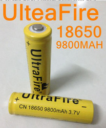 120pcs up 18650 battery 3.7V 9800mAh rechargeable lithium battery for Led flashlight litio battery cell