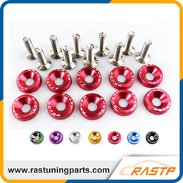Wholesale JDM Style Aluminum Fender Washers A Pack And bolt For Honda Civic Integra RSX EK EG DC RS QRF002