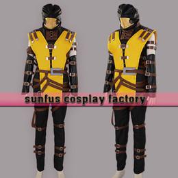 3ds xl jeux à vendre-Halloween Mortal Kombat Scorpion Hanzo Hasashi Masque Costume Costume 3DS