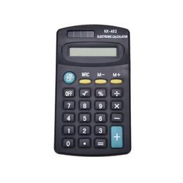 Vente en gros Mini 8 chiffres calculatrice électronique batterie Powered School Office Company à partir de bureau de la calculatrice fabricateur