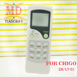 Wholesale High Quality Original Split And Portable Air Conditioner Universal Remote Control For CHIGO ZH LT Air Conditioning Parts