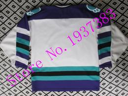 Wholesale 2016 New Design Style Orlando Solar Bears White Hockey Jerseys Accept Custom Stitched Jerseys Custom Any Name and Any Number