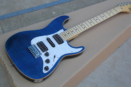 Vente en gros - usine de guitare en Chine personnalisée Haute qualité Nouvelle étincelle bleue Guitare électrique Suhr Pro Series avec tremolo de Wilkinson 1027 à partir de guitare suhr pro series fabricateur