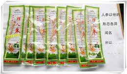 Wholesale Chinese nutrition fresh ginseng root g bag insam changbai mountain health care herbal tea organic panax C291