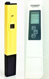 Wholesale 2pcs Digital LCD PH Meter TDS EC Water Quality Tester Meter Pen LCD Monitor Aquarium Pool Analyzers
