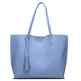 Bag Big Bags Women Tote Tassel Casual High Grade Embossed Solid Bag With Cell Phone Pocket High Quality Hot Explosion