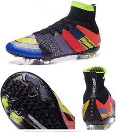 2017 hombres zapatos nuevos estilos Tienda para la chaqueta de fútbol firme-tierra de los hombres de CR7 en la tienda de yakuda. Envío de la lona aceptado, 2016 cargadores nuevos del zapato del estilo, zapatos del fútbol de Ronaldo hombres zapatos nuevos estilos en oferta