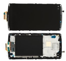 Black Front Housing LCD Glass Display Touch Screen Digitizer Assembly For LG V10