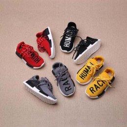Wholesale Venta caliente NMD RAZA HUMANA Pharrell Williams X Zapatillas deportivas Nuevos Hombres Breathability NMD Running Zapatillas Zapatillas deportivas de moda al aire libre