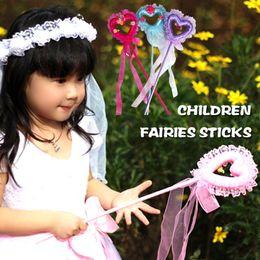 Wholesale Luminous fairy stick flash magic fairy dancing show props princess stick hot light toys