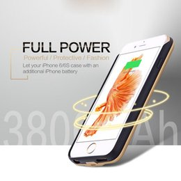 Wholesale iPhone s Plus Power Back Case mAh External Battery Cover for iPhone s Inch mAh With Retail Box