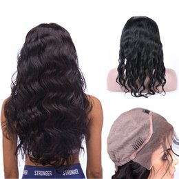 8A Glueless Lace Front Wigs Virgin Brazilian Long Wavy Swiss Lace Human Hair Wigs For Black Women Natural Wave Lace Front Wigs