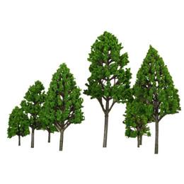 Wholesale Hot Sale Set Poplar Tree Model Architectural Model for Train Layout Garden Scenery Scene Landscape Handcrafted Trees Model
