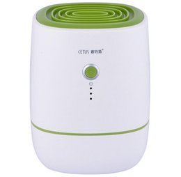 Wholesale CSQ New Arrival Mini Dehumidifier Moisture Absorber Water Tank Portable Air Dehumidifier for Home Kitchen Quiet Air Dryer