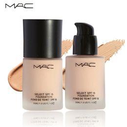 Wholesale New MRC Maquillage Fond De Teint Professional Base Liquida Para Rosto Moisturizer Base Make Up Foundation SPF