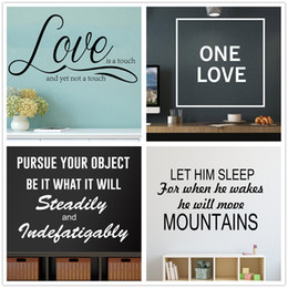 Mix Order Love Wall Decal Lettering Vinyl Wall Art Quotes Removable Wall  Words Inspirational Stickers Home