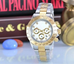 Wholesale 2016 AAA False small dish quality automatic date men role of women in the x brand luxury fashion brand steel band quartz clock movement