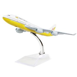New hot sale 1:400 Brunei Airlines Boeing 747 16cm alloy metal model aircraft child Birthday gift plane models chiristmas gift