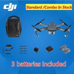 Promotion 4k caméra drone En stock! DJI Mavic pro (3 piles incluses) Mavic Pro Fly Plus combo Mavic Pro Combo Drone Avec 4K HD Camera