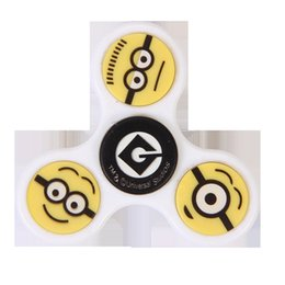 Despicable Me Minions Fidget Spinner Fingertip Gyro Hand Spinner Alloy Decompression Toys For Autism EDC ADHD Adult Anti-anxiety