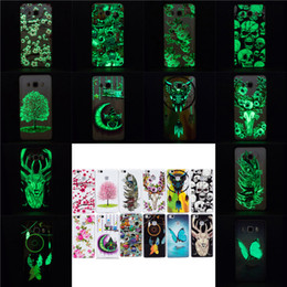 New Luminous Back Cover for HuaWei P8 Lite P9 Lite P8lite P9lite Mobile Phone Soft TPU Cover