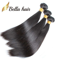 3pcs lot Unprocessed Indian Hair Weft 8A Natural Color Dyeable Silky Straight Human Hair Extensions