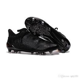 Wholesale 2017 Cheap X Purechaos FG AG Soccer Shoes Men Soccer Cleats Colors Football Shoes Hot Sale Soccer Boots Free Ship