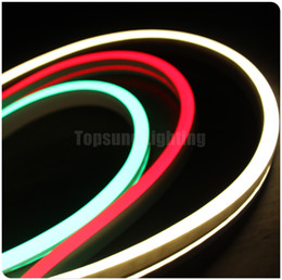 25m spool 11x19mm Flat emitting surface LED neon flex 220V PVC tube light IP67 waterproof outdoor lighting decoration 120LEDs M 230V
