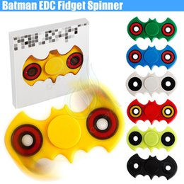 Newest Hand Fidget Spinner Batman EDC Handspinner Finger Spinners Acrylic Plastic Toy Adults Anti Stress decompression anxiety Toy DHL free
