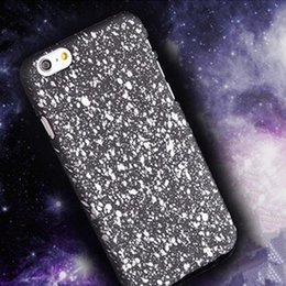 Wholesale i phone case for iphone s plus note PC hard matting defender cover case D Starry sky design classic protector cover case GSZ0757