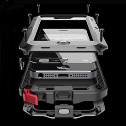 For Samsung galaxy S7 S6 S5 Cover Armor Protective For iphone 6s Waterproof Case i5 6 6S PLus Phone Cases For iphone 5 5S Case