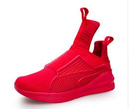 Descuento altos tops hombres 45 Zapatos de los hombres que caminan 2017 nuevos planos de los hombres de los hombres respirable de la marca de fábrica de la tapa del alto de la manera de los nuevos para los hombres ata para arriba el tamaño 45 de los zapatos